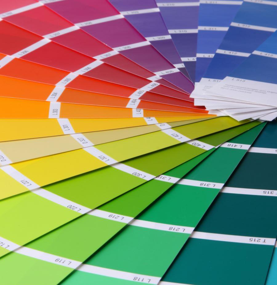 Fliegengitter mit individueller Farbe
